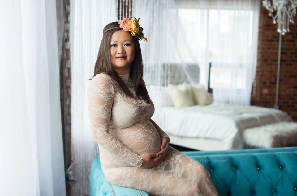 Fine Art Frisco TX Maternity Photographer CLJ Photography