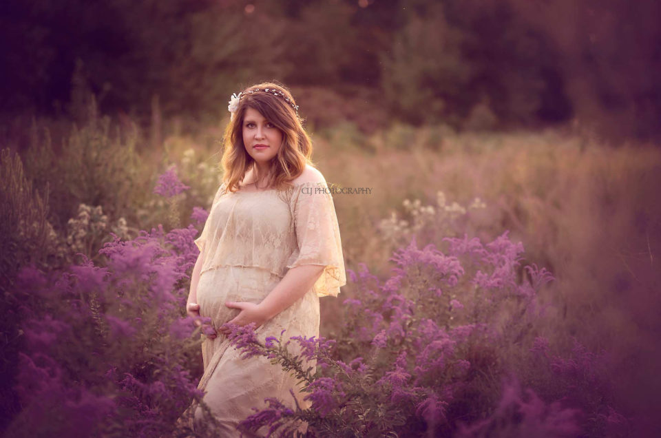 Expecting Boho Outside Pregnancy Session prosper pregnancy portraits