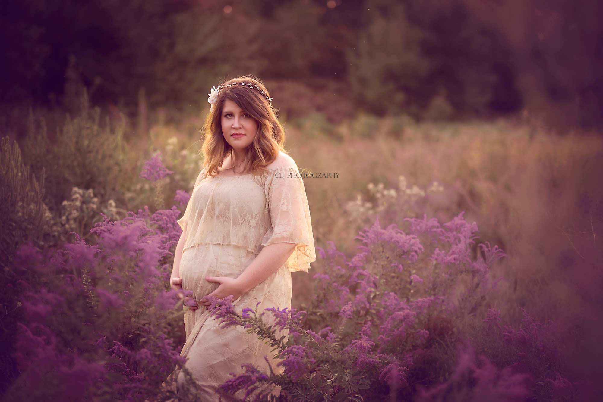 gowns Maternity Sessions - Frisco Photographer and North Dallas Areas