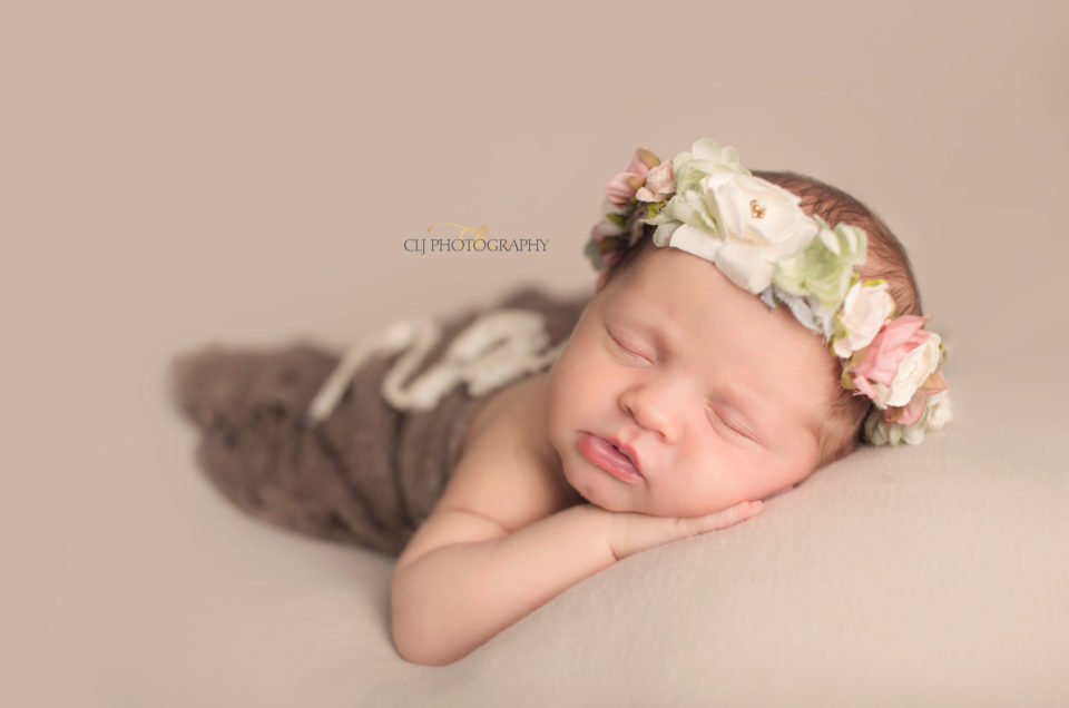 Simple and Sweet Baby Portraits Dallas TX CLJ Photography