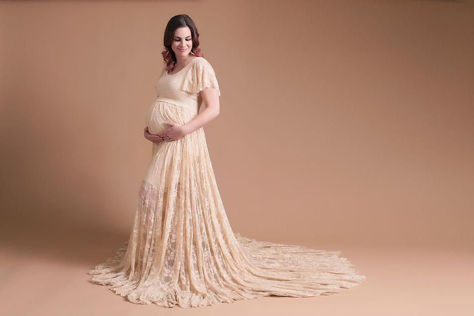 joy maternity gown clj photography frisco tx