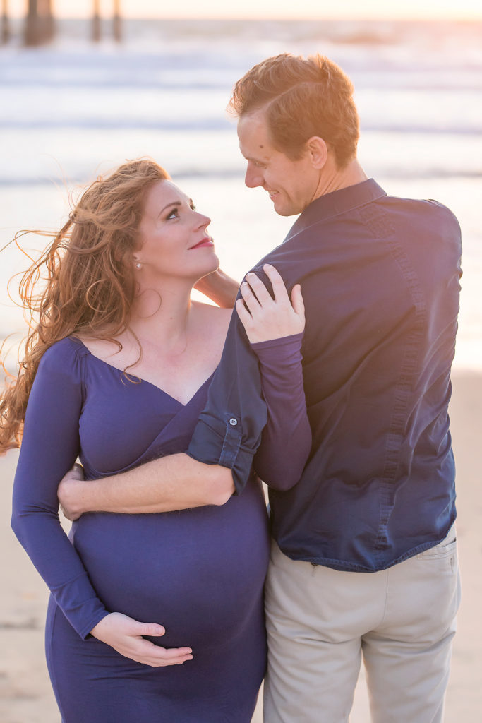 California Baby Moon Maternity Session
