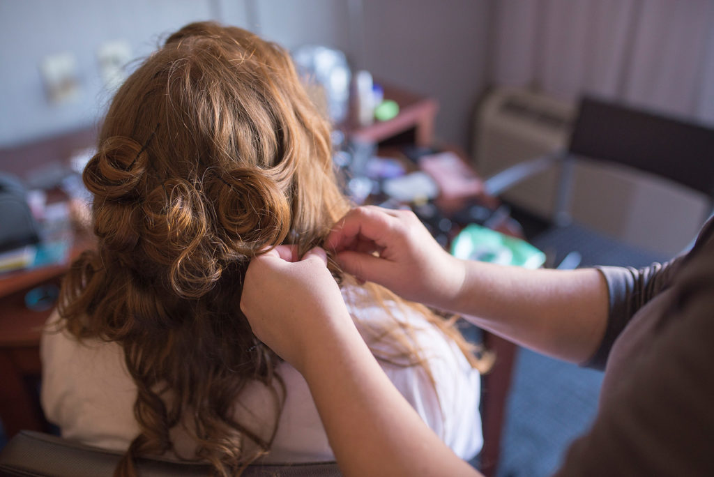 Hair and Make-up Maternity Session CLJ Photography