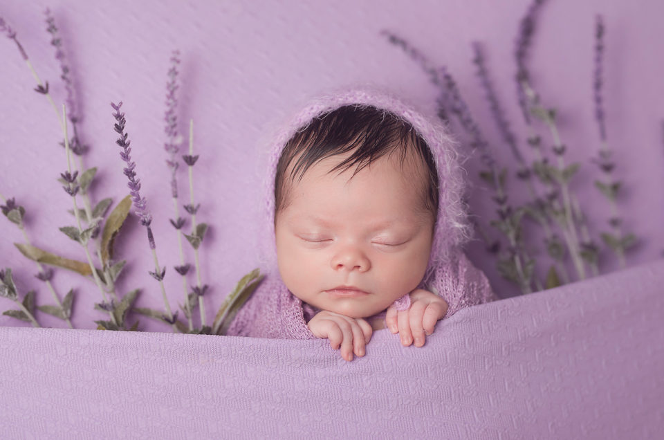 Baby Girl Newborn Shoot Dallas TX CLJ Photography