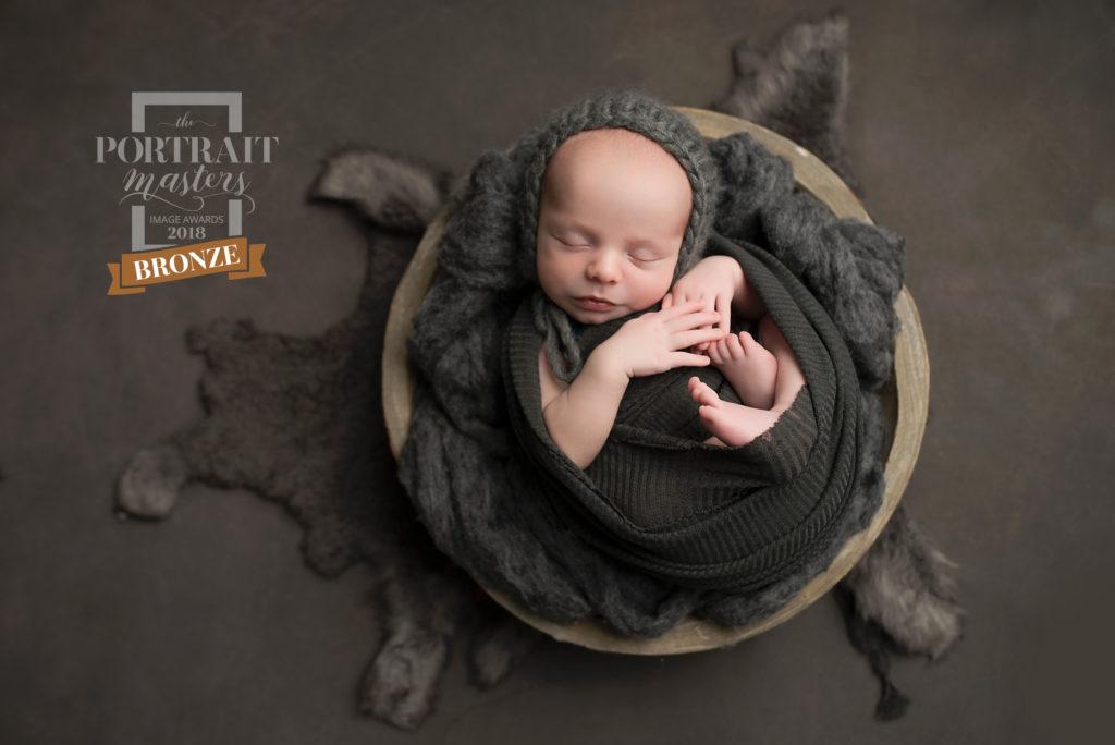 Award Winning Newborn portrait Dallas TX