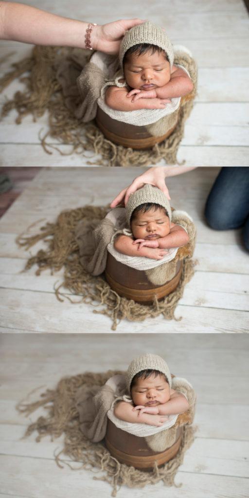 Dallas Newborn Photo Shoot Safety CLJ Photography