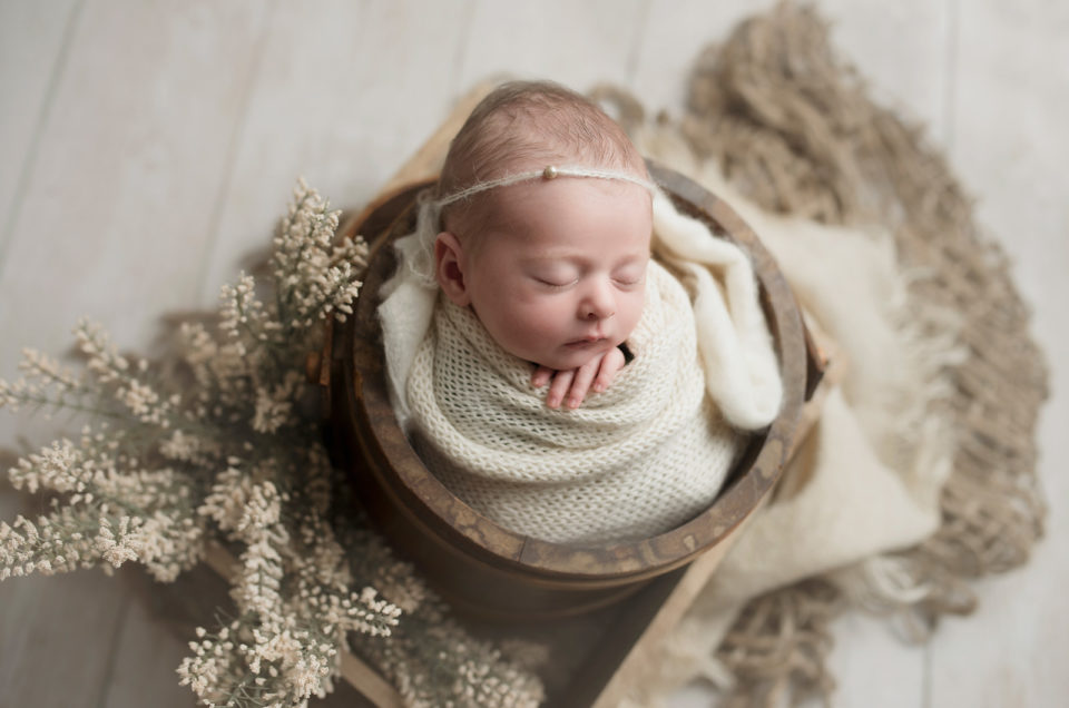 Newborn Baby Girl Dallas TX CLJ Photography